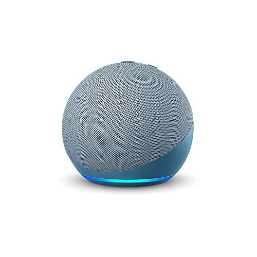 Amazon : All-new Echo Dot (4th Gen)   Next generation smart speaker with improved bass and Alexa (Blue)