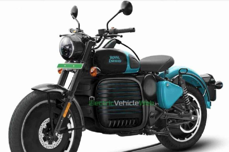 Royal Enfield Electric Bike Imagined In Dual-tone; Looks Fantastic
